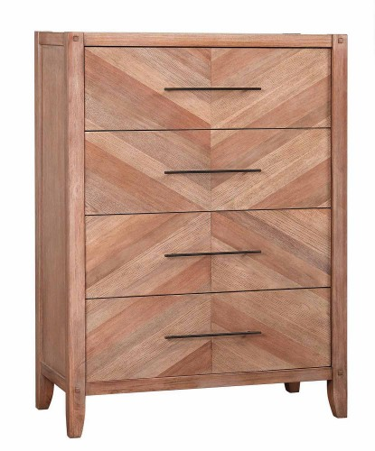 Tawny Chest - White Washed Natural