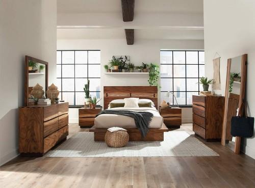 Winslow Bedroom Set - Smokey Walnut/Coffee Bean