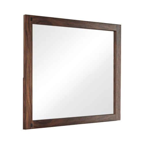 Winslow Mirror - Smokey Walnut/Coffee Bean