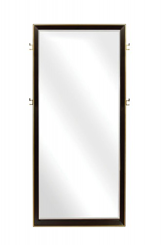 Durango Floor Mirror - Smoked Peppercorn