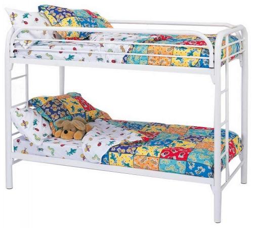 Coaster 2256W Twin-Twin Bunk Bed - White