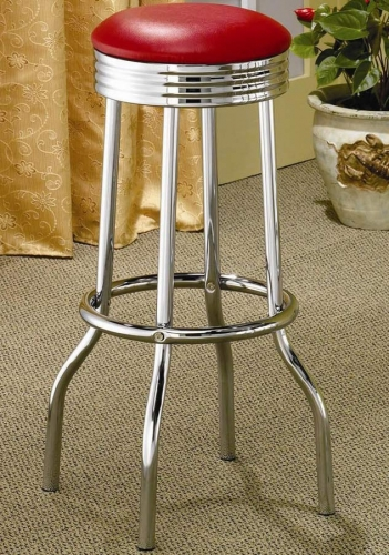 Cleveland Bar Stool - Red