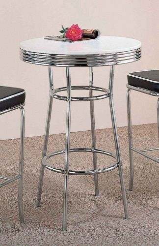 2300 Bar Table - White