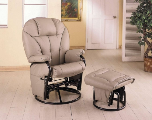 2645 Swivel Glider With Ottoman