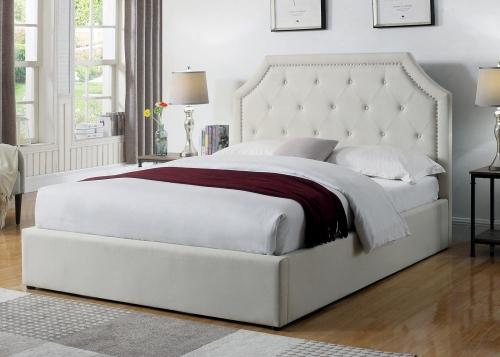 Hermosa Bed - Beige