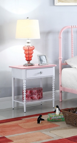 Loyola Nightstand - Pink
