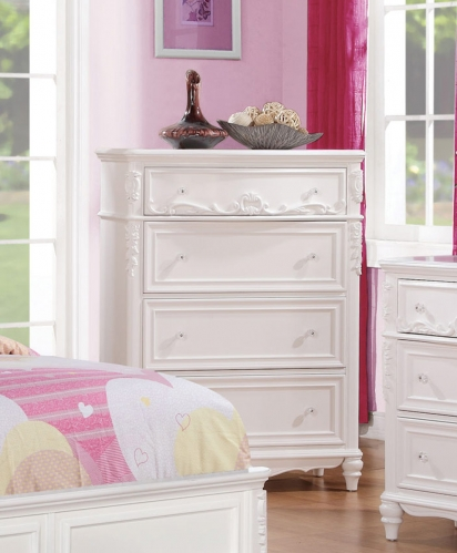 Coaster Caroline Chest - White