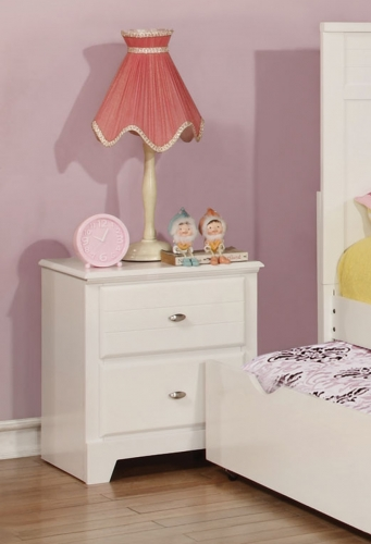 Ashton Night stand - White