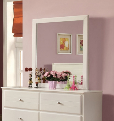 Ashton Mirror - White