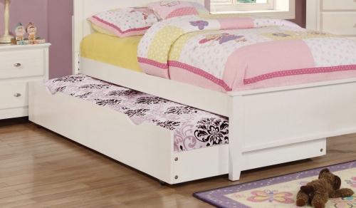 Coaster Ashton Trundle - White