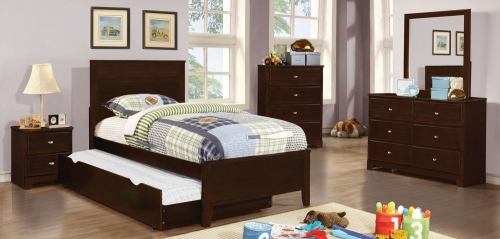 Ashton Platform Bedroom Collection - Cappuccino