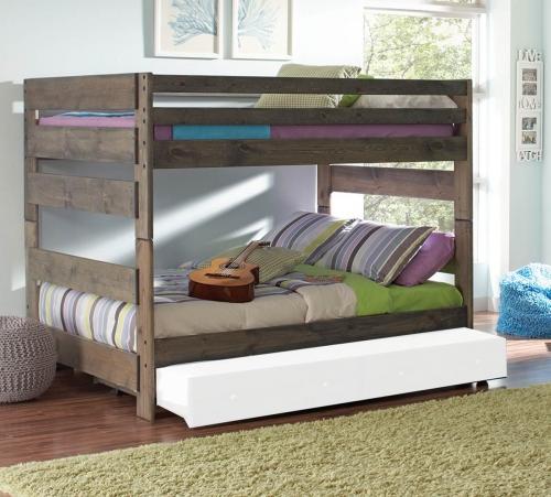 Wrangle Full/Full Size Storage Bunk Bed - Gunsmoke