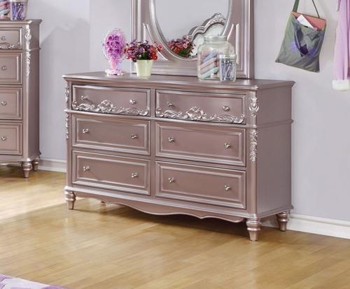Caroline Dresser - Metallic Lilac
