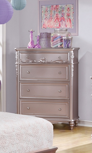 Caroline Chest - Metallic Lilac