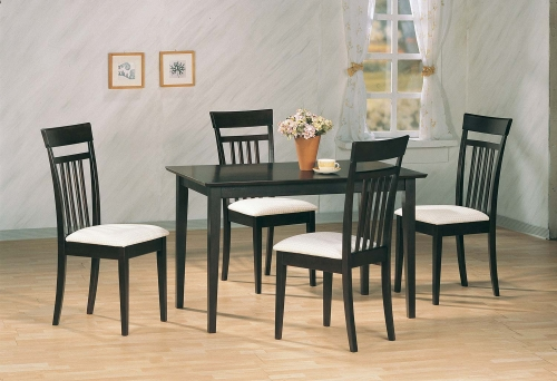 4430 5 PC Dinette Set - Cappuccino
