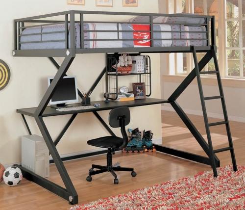 460092 Workstation Loft Bed