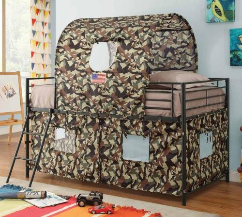460331 Tent Loft Bed - Green