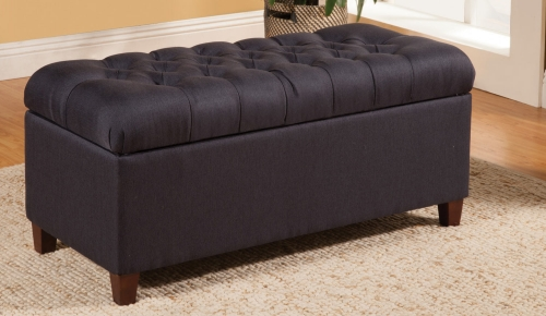 500066 Storage Bench - Dark Navy