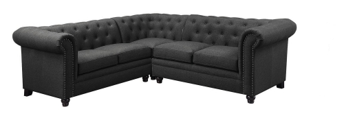 Roy Sectional Sofa - Grey