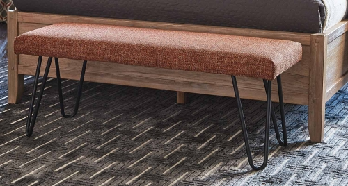 501548 Bench - Burnt Orange