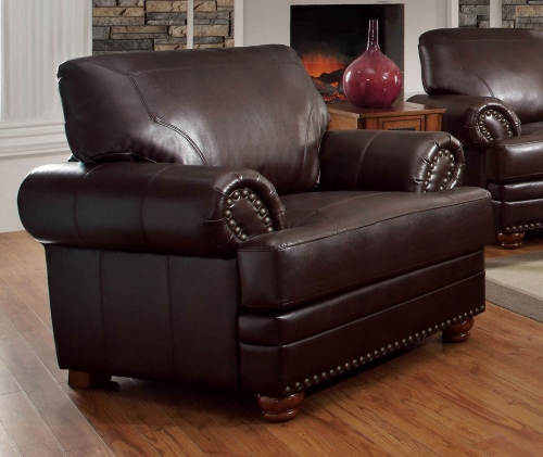 Colton Chair - Brown