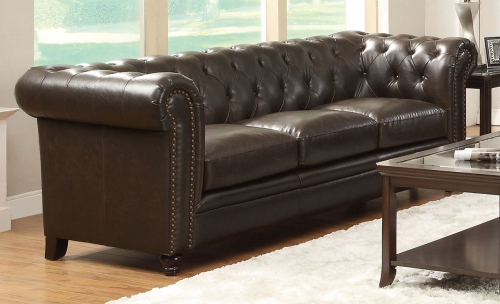 Roy Sofa - Brown