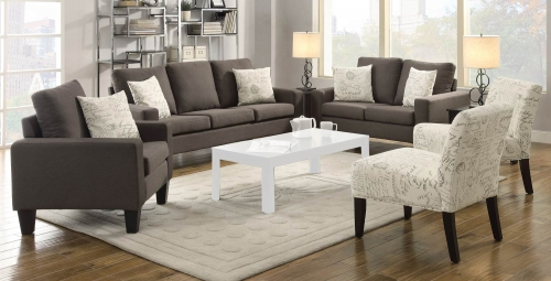 Bachman Sofa Set- Grey