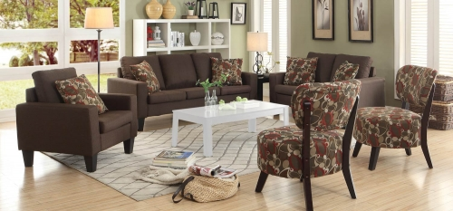 Bachman Sofa Set- Chocolate