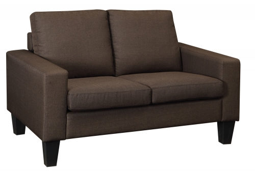 Bachman Love Seat - Chocolate