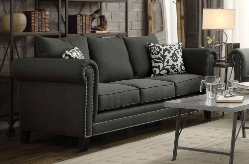 Emerson Sofa - Charcoal