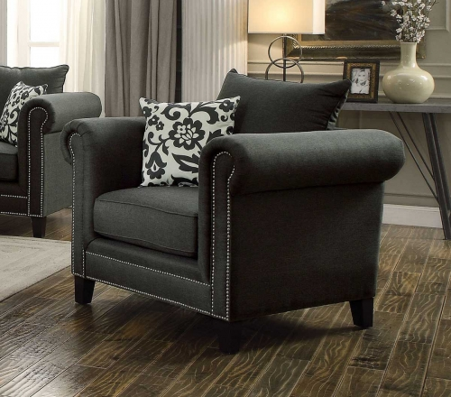 Emerson Chair - Charcoal