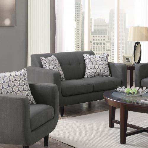 Stansall Love Seat - Grey