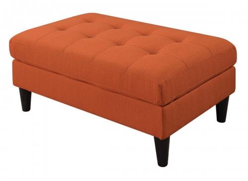 505370 Ottoman - Orange