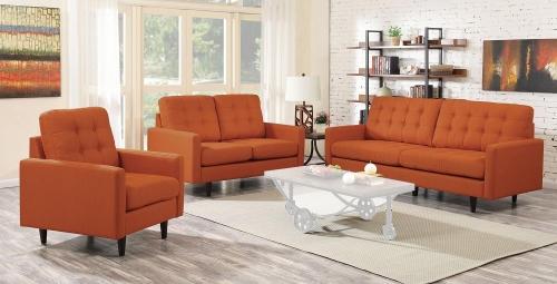 Kesson Sofa Set - Orange