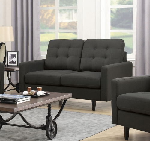 Kesson Loveseat - Charcoal