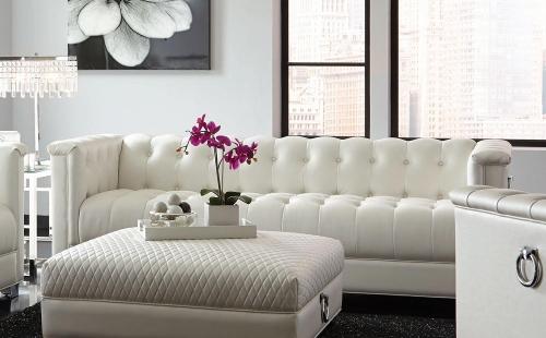 Chaviano Sofa - Pearl White