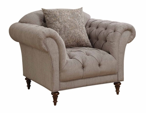 Alasdair Chair - Light Brown
