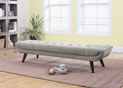 Natalia Bench - Dove Grey