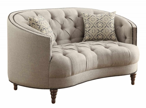 Avonlea Loveseat - Stone Grey