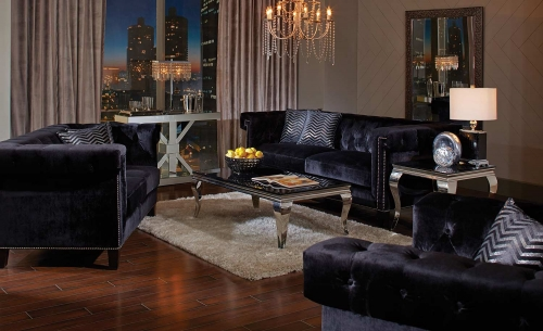 Reventlow Sofa Set - Black