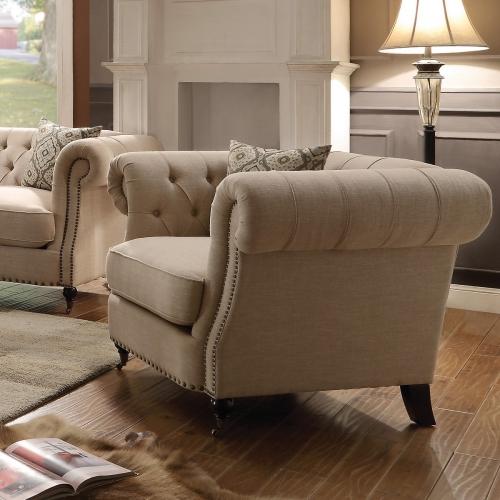 Trivellato Chair - Oatmeal