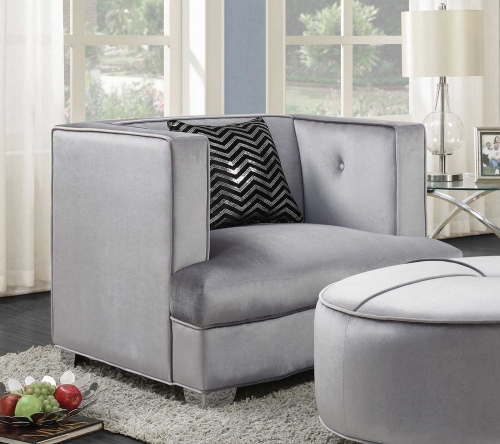 Caldwell Chair - Silver