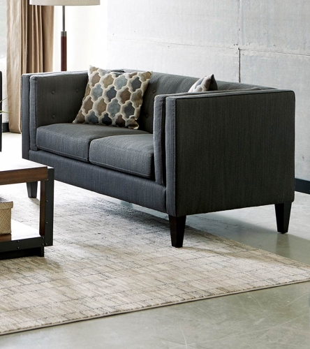 Sawyer Loveseat - Dusty Blue