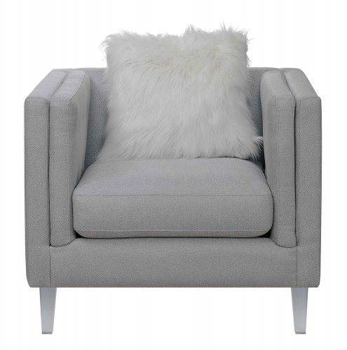 Coaster Hemet Chair - Light Grey
