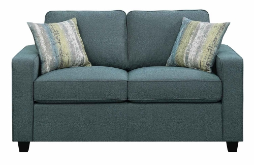 Brownswood Loveseat - Light Blue