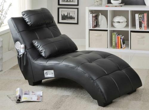 550018 Chaise - Black