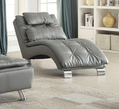 Dilleston Chaise - Grey