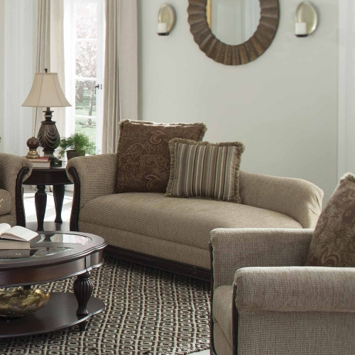 Beasley Chaise - Brown