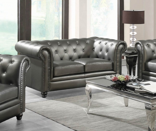 Roy Loveseat - Gunmetal