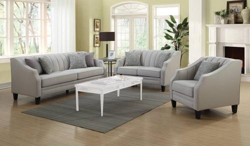 Loxley Sofa Set - Grey